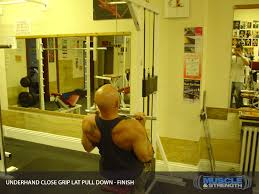 Tips for Lat Pulldown: