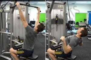 Lat Pulldown Common Technique Errors